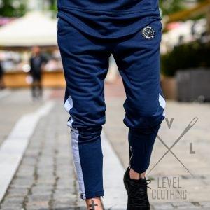 Παντελόνι Φόρμα μπλε  με φερμουάρ