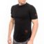 Ανδρικό T-shirt LEVEL Μαύρο