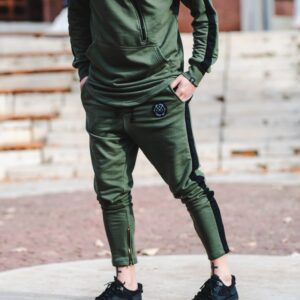 Φόρμα LEVEL πράσινη με Μαύρο