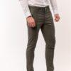 Ανδρικό Παντελόνι LEVEL Χακί με φερμουάρ