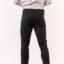 Ανδρικό Παντελόνι LEVEL μάυρο με φερμουάρ