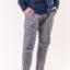 Ανδρικό Λινό Παντελόνι LEVEL Μπλε