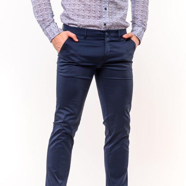 Chinos παντελόνι LEVEL Μπλε