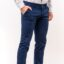 Chinos παντελόνι LEVEL Μπλε Navy